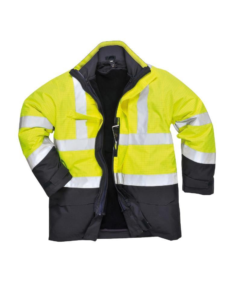 Abbigliamento ignifugo alta visibilità. Sicurezza e qualità.