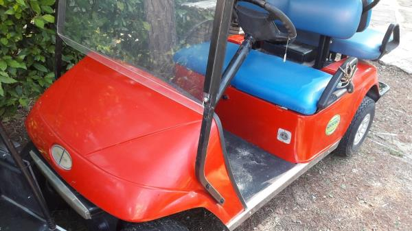 Golf car Italcar rossa 4 posti 48V