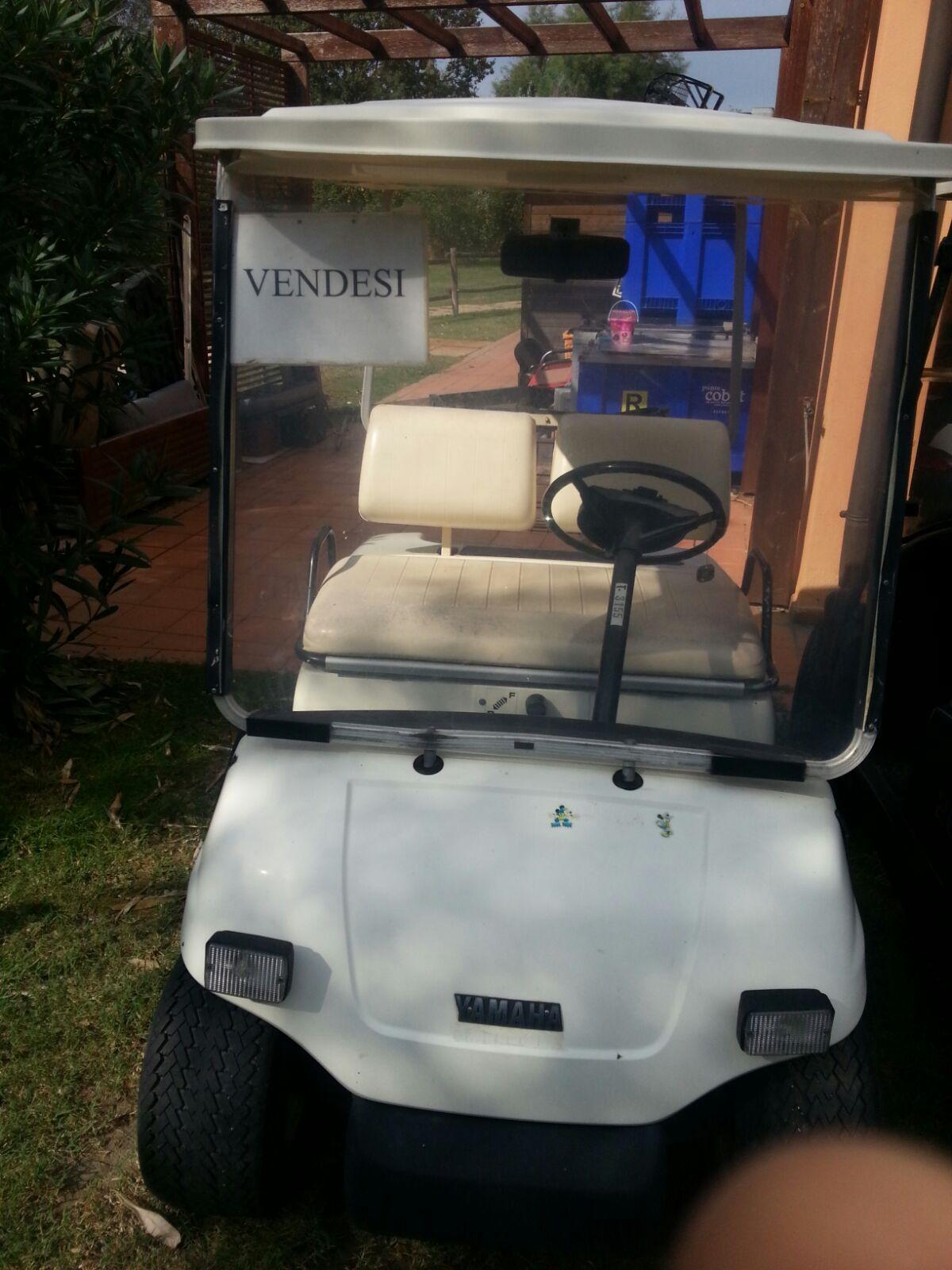 golf car yamaha usata ottima occasione da non perdere. Black Bedroom Furniture Sets. Home Design Ideas