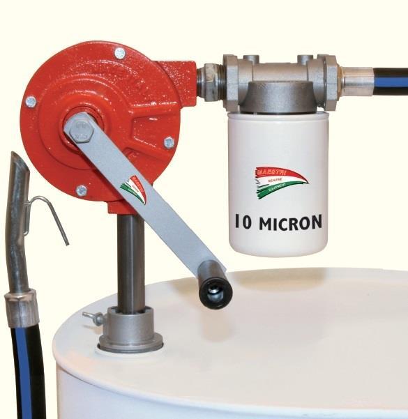 pompa a manovella olio di riscaldamento Pompa a tamburo diesel per benzina Diesel carburante garage Pompa a mano pompa diesel pompa a mano rotativa per gasolio combustibile