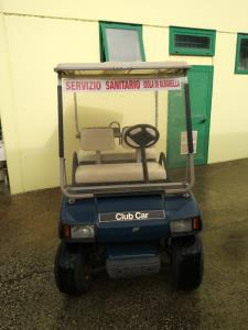 Golf car Club Car 4 posti colore blu