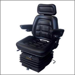 Sedile SC 90 in skay base piana con guide e molleggio ad aria